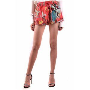 RED VALENTINO Multi-Color Floral Shorts